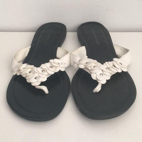 352a46490898 Montego Bay Club Black and White Sandals. M 5acb907561ca10efa3843dfd